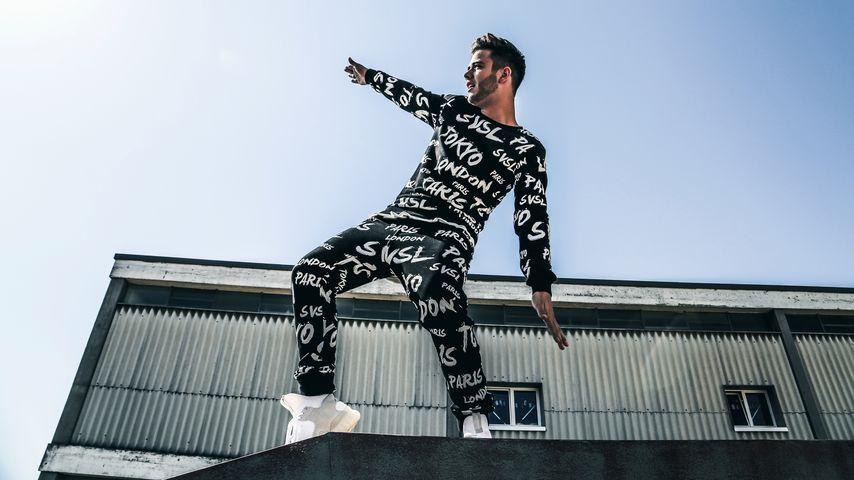 Luca Hänni präsentiert seine neue Modekollektion