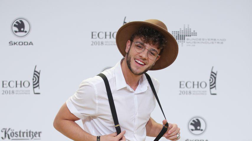 Musiker Luka Hänni beim Echo Award 2018