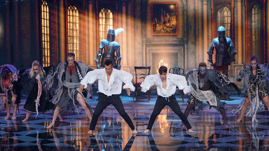 """Luca Hänni und Prince Damien tanzen im """"Dance Dance Dance""""-Finale"""