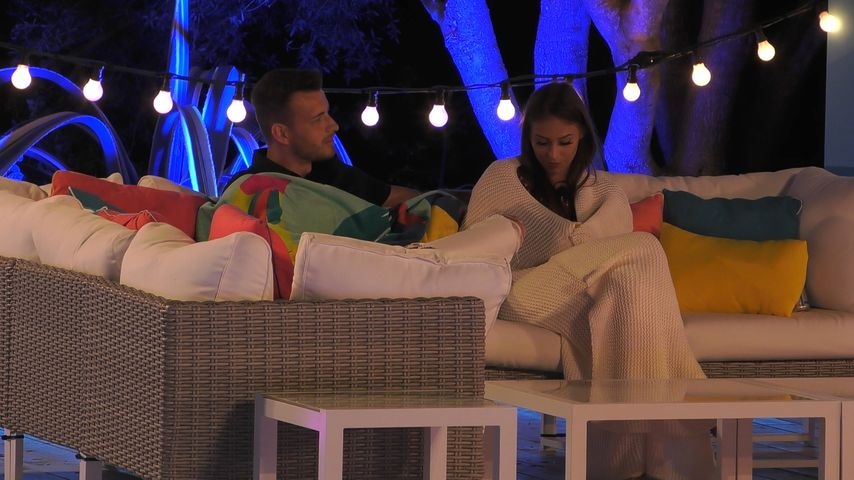 """Luca und Melina bei """"Love Island"""""""