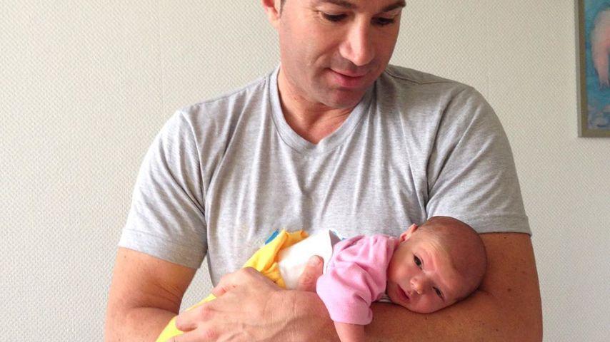 Lucas Cordalis und Baby Sophia