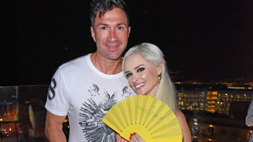 Lucas Cordalis und Daniela Katzenberger in Palma de Mallorca