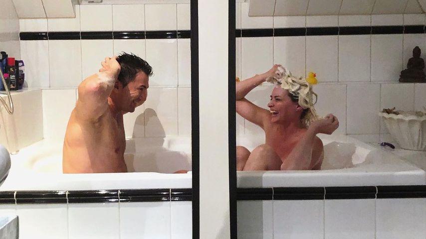 Lucas Cordalis und Daniela Katzenberger, Oktober 2020