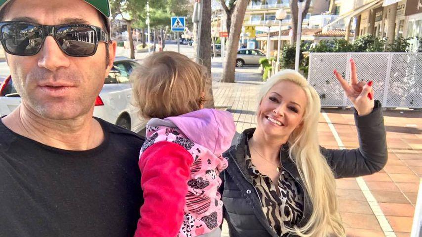 Lucas Cordalis, Sophia Cordalis und Daniela Katzenberger auf Mallorca