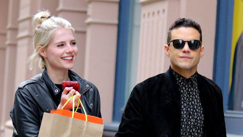 Ultra-Verknallt: Rami Malek und seine Lucy turteln durch NYC