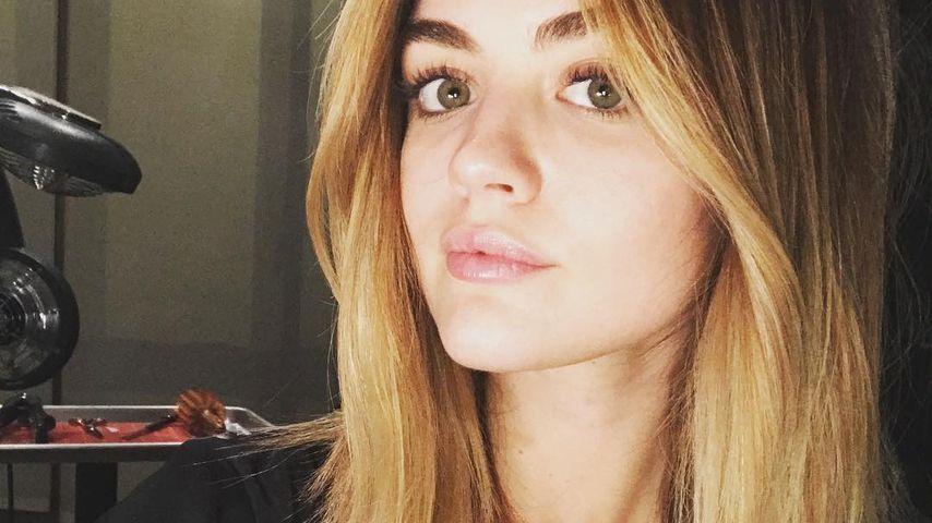 Neue Frise zum PLL-Abschied: Lucy Hale verzückt als Blondine