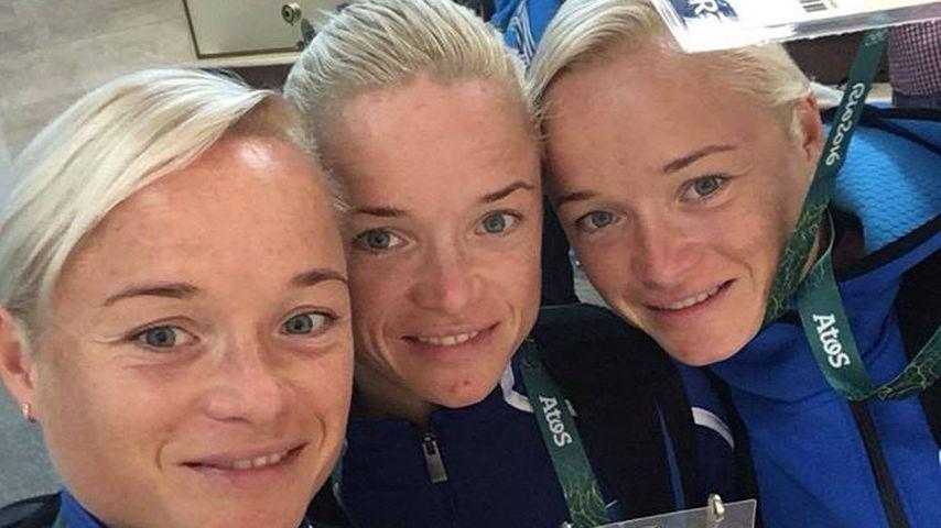 Olympia-Marathon: Süße Drillinge gehen zusammen an den Start