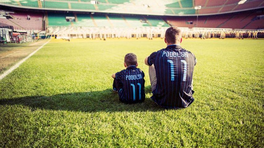 Herzergreifend: Lukas Podolski rührt mit Post an seinen Sohn