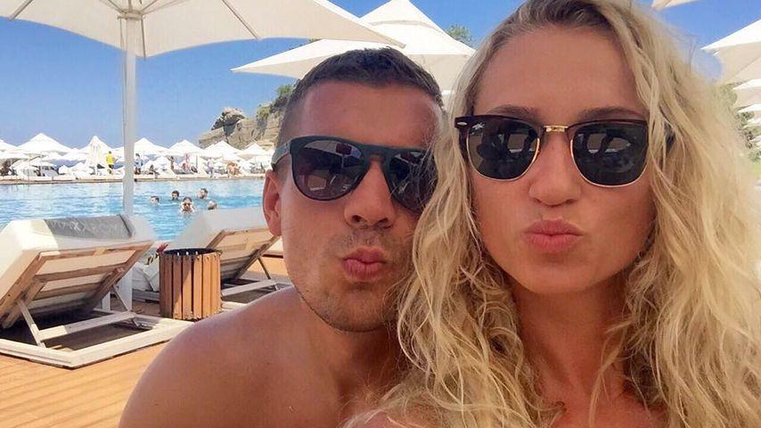 Lukas Podolski: Liebevolle Worte zum siebten Hochzeitstag!