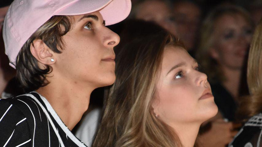 Lukas Rieger und Faye Montana im Juli 2018