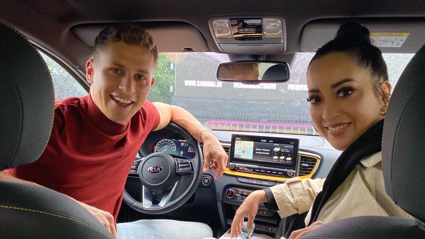 Lukas Sauer und Miyabi Kawai im Berliner Autokino
