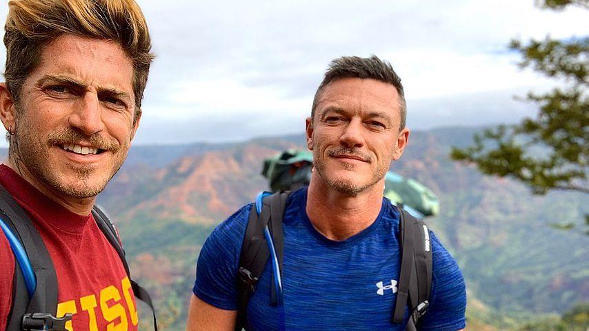 Luke Evans und Rafael Olarra im Dezember 2019