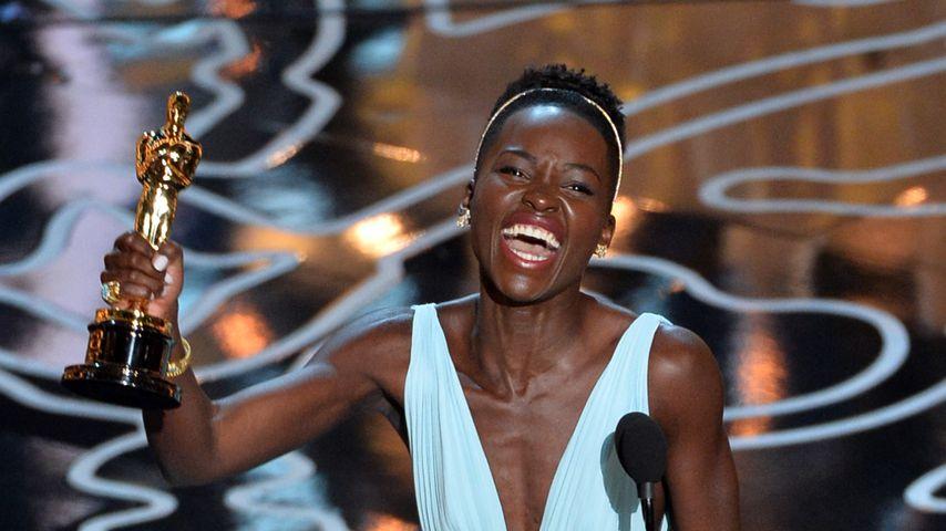 Lupita Nyong'o bei der Verleihung der Oscars 2014