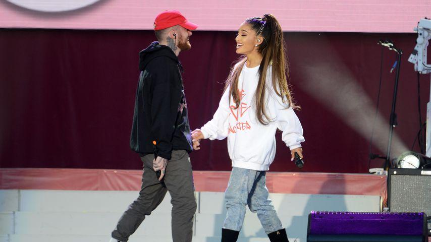 Mac Miller und Ariana Grande im Juni 2017 in Manchester