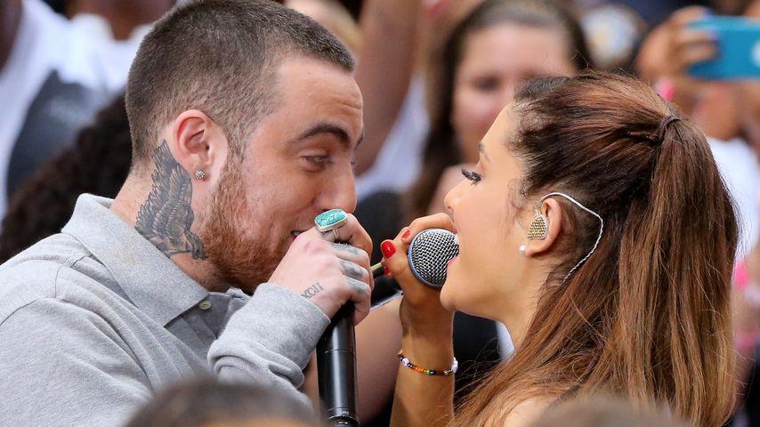 Mac Miller und Ariana Grande bei einer Performance im Jahr 2013