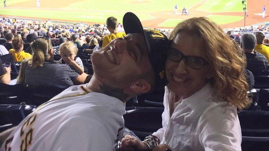 Mac Miller und seine Mutter Karen Meyers