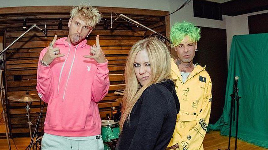Machine Gun Kelly, Avril Lavigne und Mod Sun im Dezember 2020