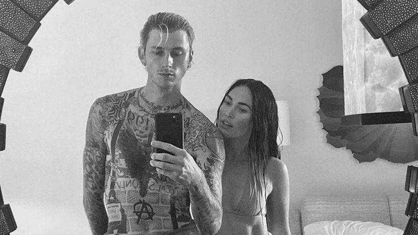 Haben Megan Fox und Machine Gun Kelly schon Liebes-Tattoos?