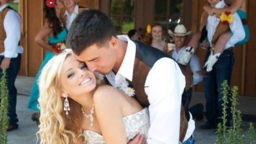 Mackenzie und Josh McKee bei ihrer Hochzeit
