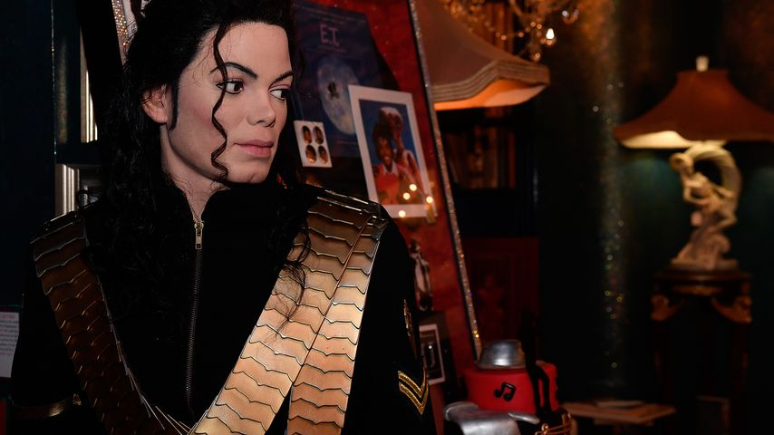 Wachsfigur von Michael Jackson im August 2016 bei Madame Tussauds in Washington D.C.
