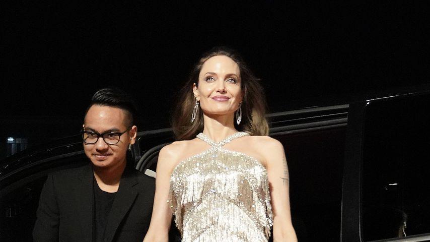 Maddox Jolie-Pitt und Angelina Jolie im Oktober in Tokio