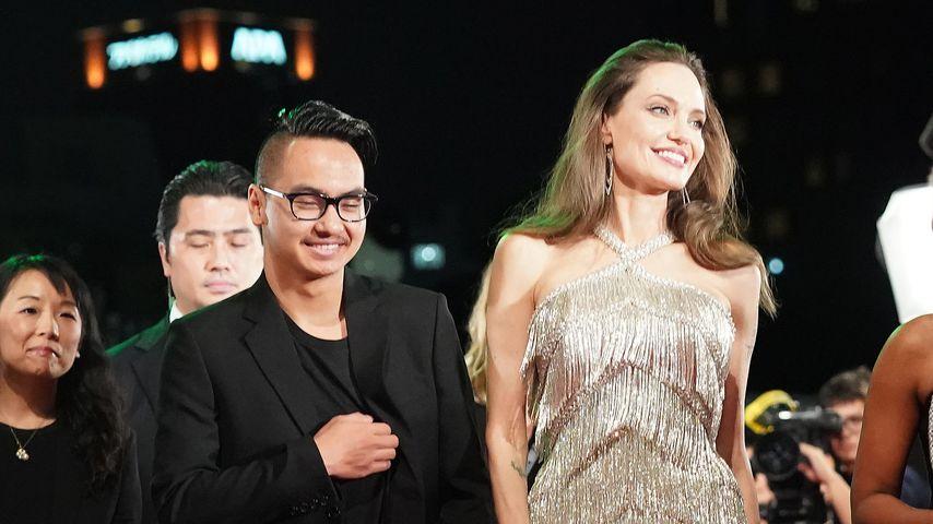 """""""Maleficent""""-Premiere: Angelina Jolie hat Sohn Maddox wieder"""