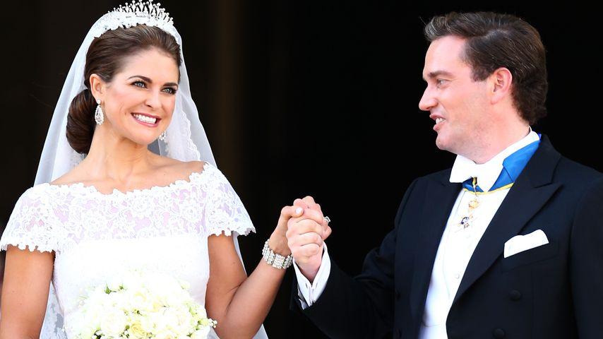 Madeleine von Schweden und Chris O'Neill 2013 an ihrem Hochzeitstag