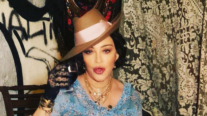 Madonna nähte Abschlussball-Kleid selbst – und schämte sich