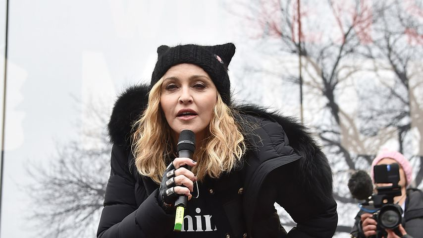 Madonna bei einem Auftritt im Januar 2017