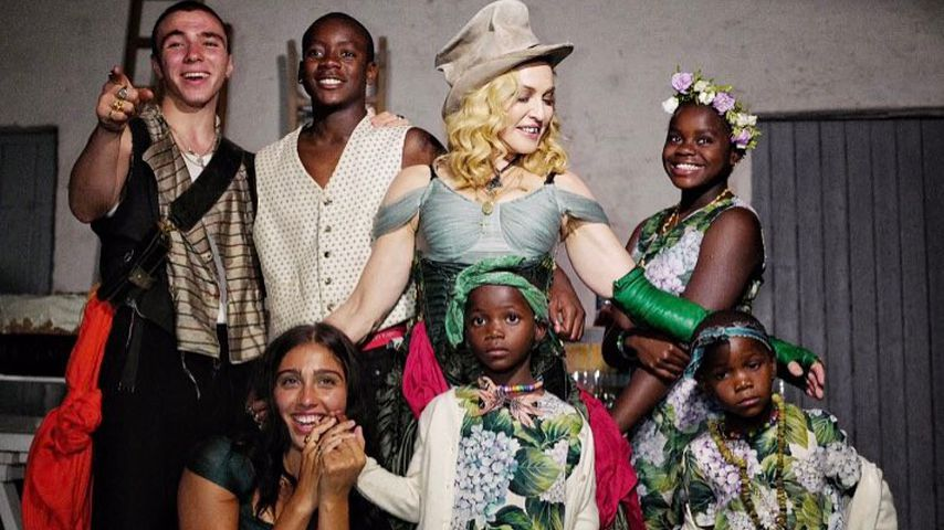 Siebtes Kind trotz Mama-Stress? Madonna mutet es sich zu!