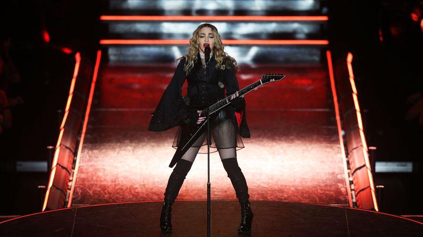 """Madonna während ihrer """"Rebel Heart""""-Tour in Melbourne"""