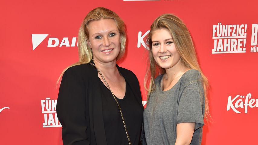Magdalena Brzeska mit ihrer Tochter Noemi