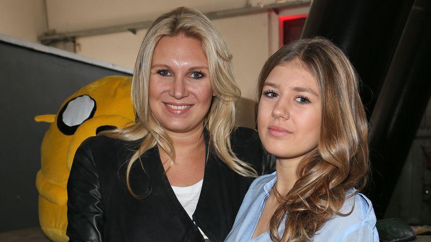 Magdalena Brzeska mit ihrer Tochter Caprice Peschel