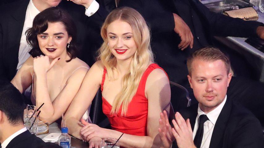 Maisie Williams und Sophie Turner bei den Screen Actors Guild Awards 2017