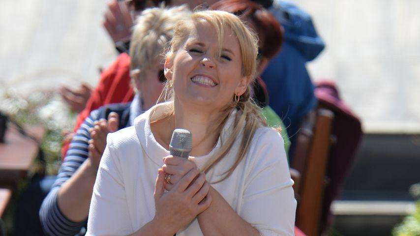 """Maite Kelly beim """"ZDF-Fernsehgarten"""""""