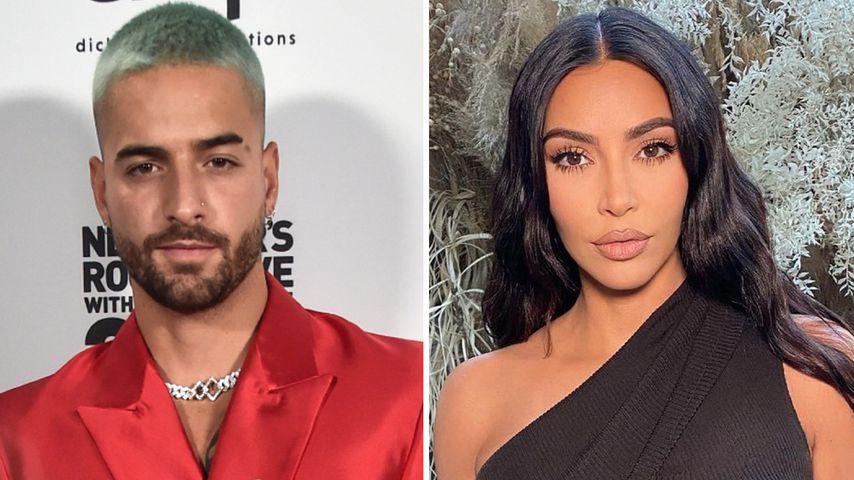 Maluma äußert sich zu den Liebesgerüchten mit Kim Kardashian