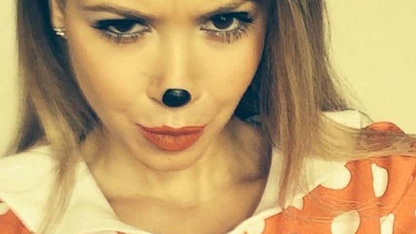 "Mandy Capristo: Als ""Mandy Mouse"" zum Karneval"
