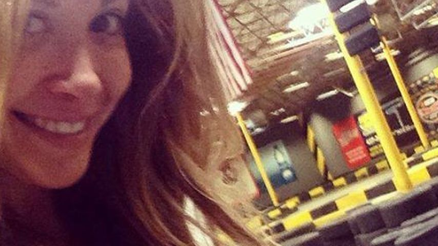 Auf der Überholspur! Mandy Capristo fährt Go-Kart