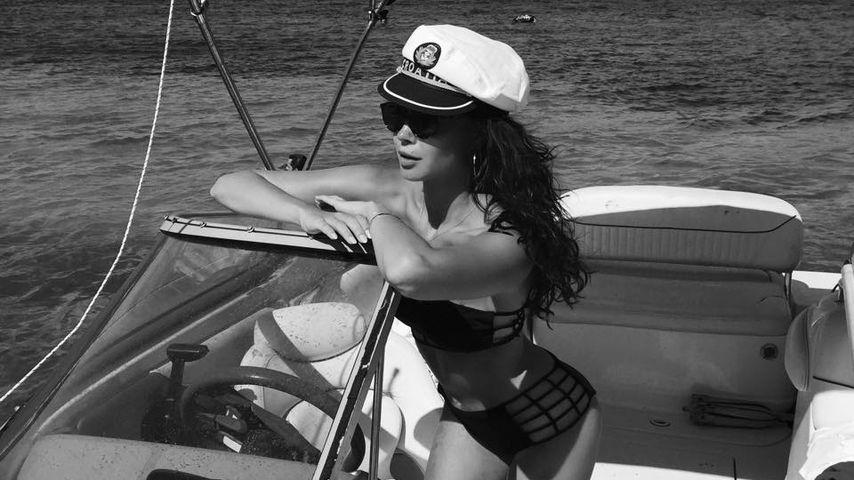 Heißer Netz-Bikini: Captain Mandy Capristo zeigt viel Haut