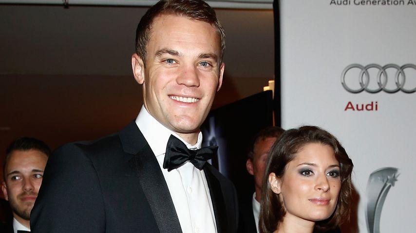 Manuel Neuer und Ex-Freundin Kathrin Gilch im Jahr 2013
