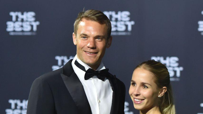Manuel Neuer und seine Frau Nina bei einem Event 2016