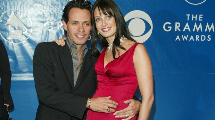 Marc Anthony und Dayanara Torres bei den Grammy Awards 2003