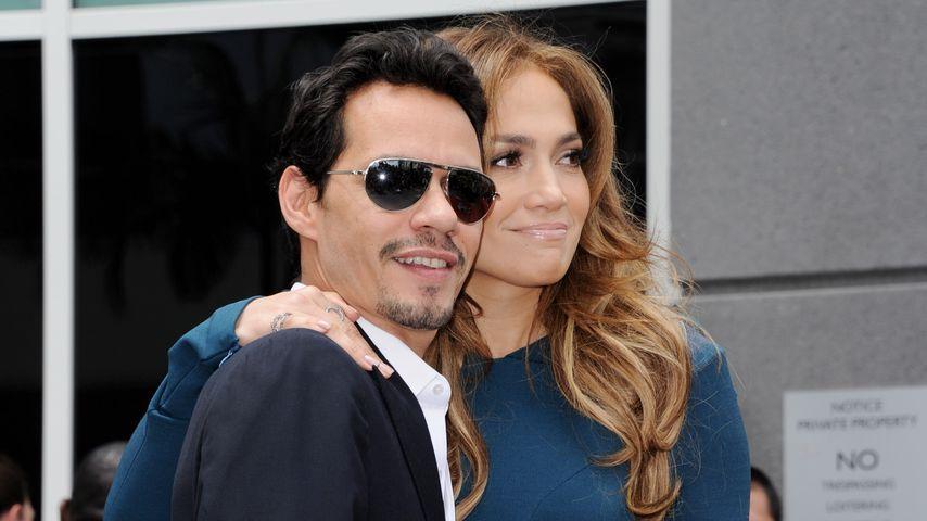 Marc Anthony und Jennifer Lopez, 2011