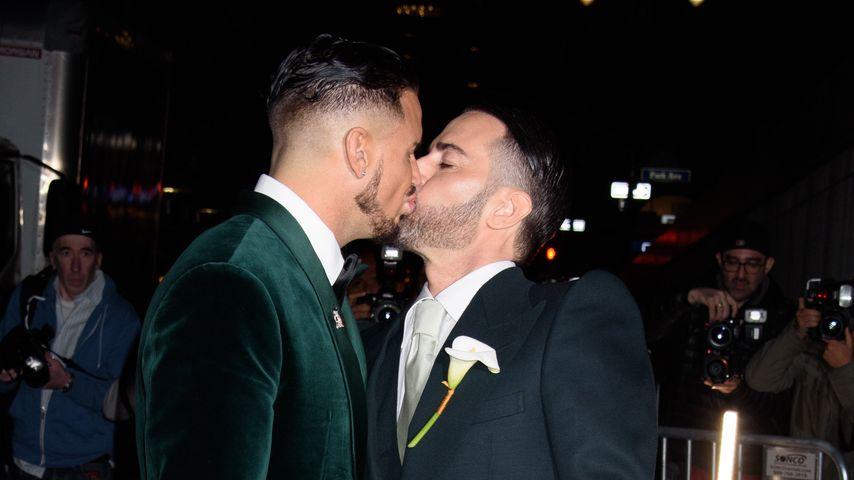Marc Jacobs und Char Defrancesco bei ihrer Hochzeit