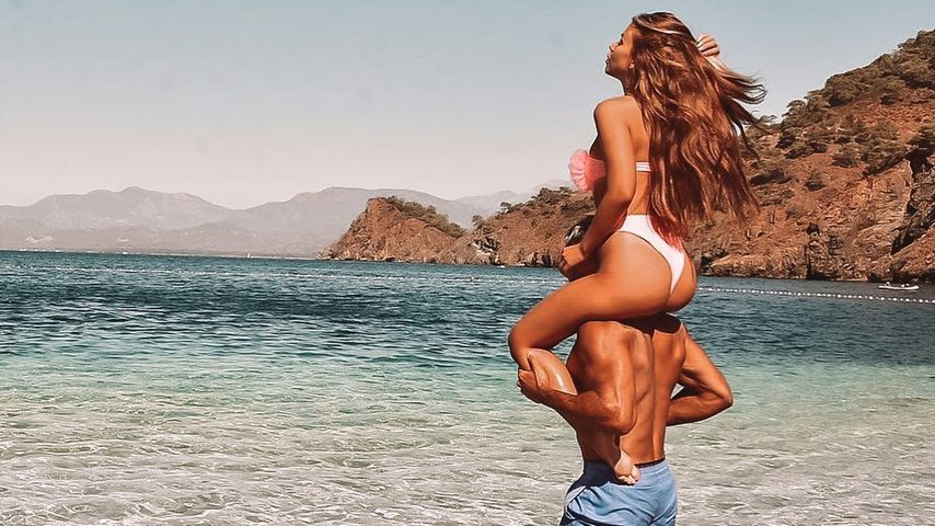 Das Fitness-Couple Marcellino Kremers und Dijana Cvijetic