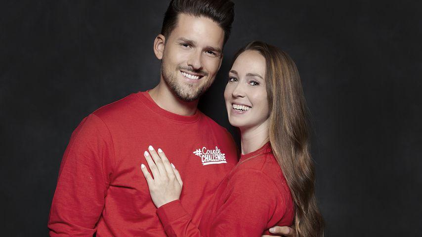 """Marco Cerullo und Christina Graß, """"#CoupleChallenge""""-Kandidaten 2021"""