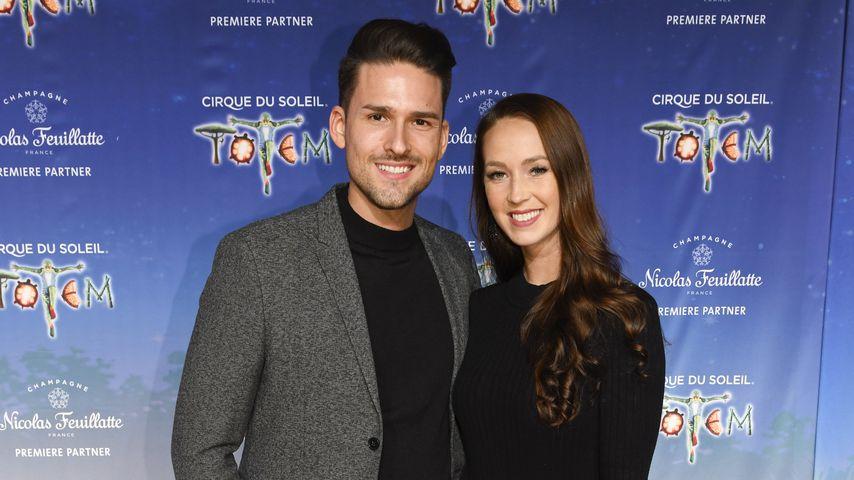 Marco Cerullo und Christina Graß im Dezember 2019