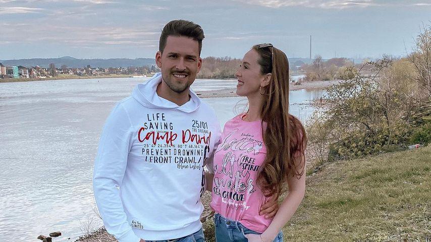 Marco Cerullo und Christina Graß im April 2021