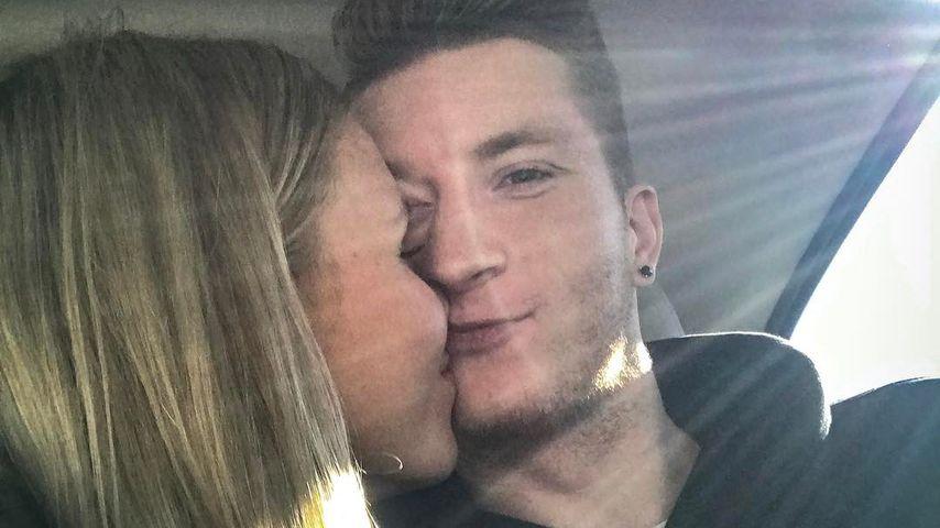 Der 1. Kuss für alle – Marco Reus knutscht seine Scarlett!