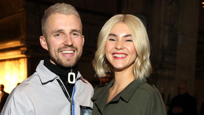 Marcus Butler und Stefanie Giesinger im Januar 2020